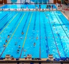 Six lanes swim 11