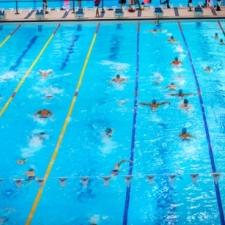 Six lanes swim 5
