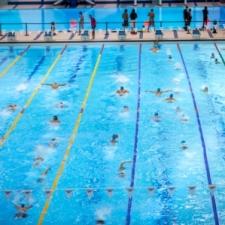Six lanes swim 6