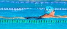 Srinjana swims