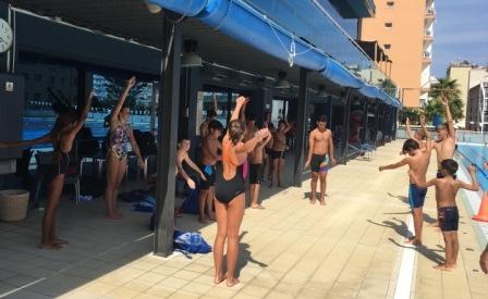 Swimming camp Spain 2016
